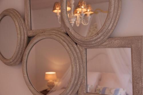 Habitación Doble Deluxe con terraza Es Cel de Begur Hotel 5