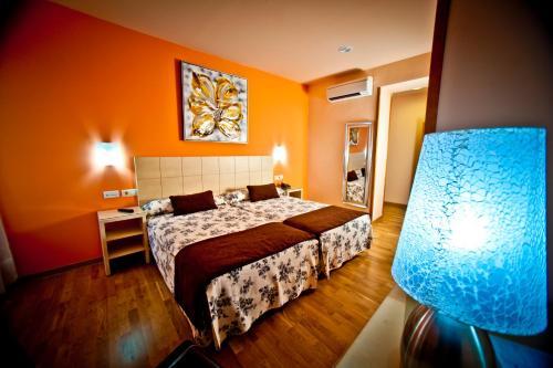 Zweibettzimmer Hotel Condes de Castilla 10