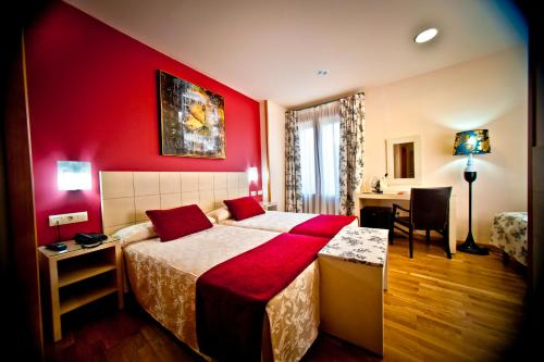 Zweibettzimmer Hotel Condes de Castilla 1