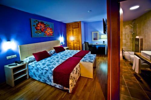 Zweibettzimmer Hotel Condes de Castilla 6
