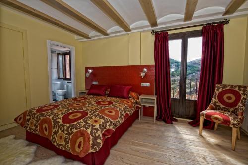 Doppel- oder Zweibettzimmer Hotel Albanuracín 1