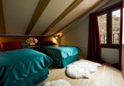 Doppel- oder Zweibettzimmer Hotel Albanuracín 11