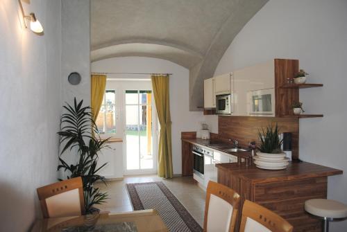 Gartler's Appartements - Apartment mit 1 Schlafzimmer und Terrasse