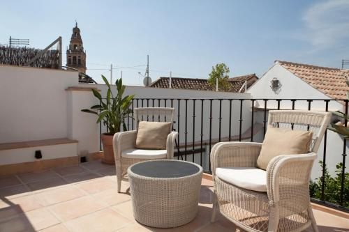 Suite Junior with Terrace Balcón de Córdoba 3