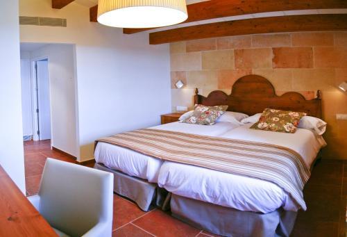 Habitación Doble - 2 camas - Uso individual Hotel Rural Binigaus Vell 5
