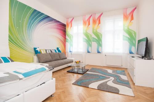 Royal Resort Apartments Hundertwasser Village - Standard Apartment mit 1 Schlafzimmer - Blattgasse 8 TOP 12, 1030 Wien