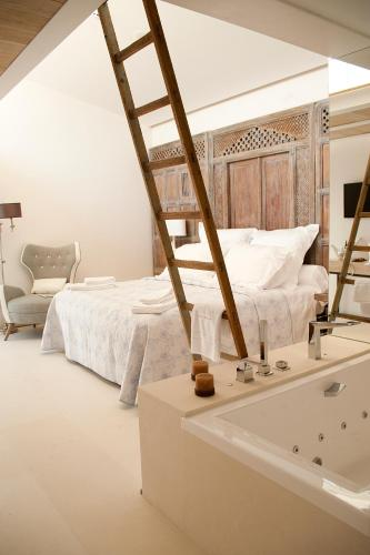 Suite Junior con vistas Boutique Hotel Spa Calma Blanca 2