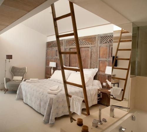 Suite Junior con vistas Boutique Hotel Spa Calma Blanca 5