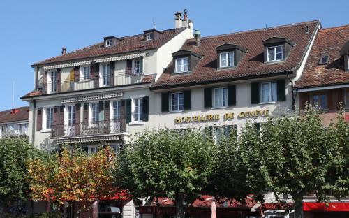 Отель Hostellerie de Genève 2 звезды Швейцария