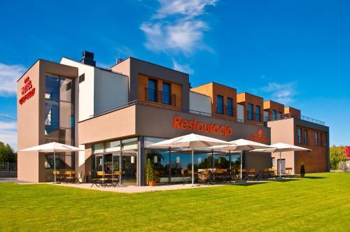 Hotel Cztery Brzozy Gdańsk Kowale front view
