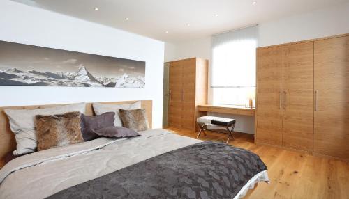 Villa Alpenchic - Apartment mit 1 Schlafzimmer und Gartenblick