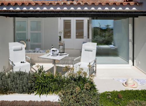 Habitación Doble Premium con jardín suspendido con vistas al mar Boutique Hotel Spa Calma Blanca 5