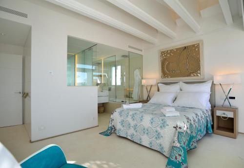 Suite Exclusiva con bañera de hidromasaje  Boutique Hotel Spa Calma Blanca 3