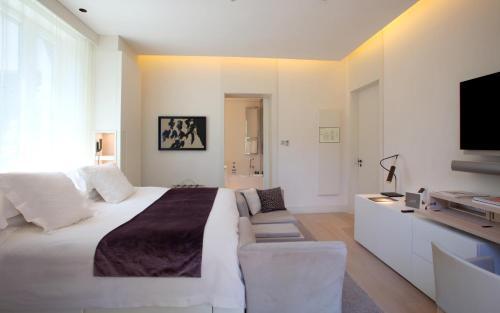 Doppelzimmer (1 oder 2 Personen) ABaC Restaurant Hotel Barcelona GL Monumento 1