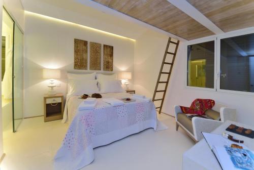 Habitación Doble Confort con bañera Boutique Hotel Spa Calma Blanca 3