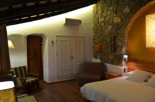 Habitación Doble Superior con terraza Hotel Galena Mas Comangau 5