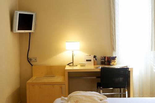 Habitación Individual Hotel Sant Roc 4