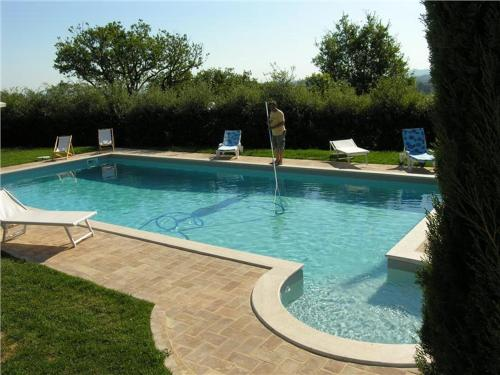 Swimming pool Villa Podere S. Gaetano