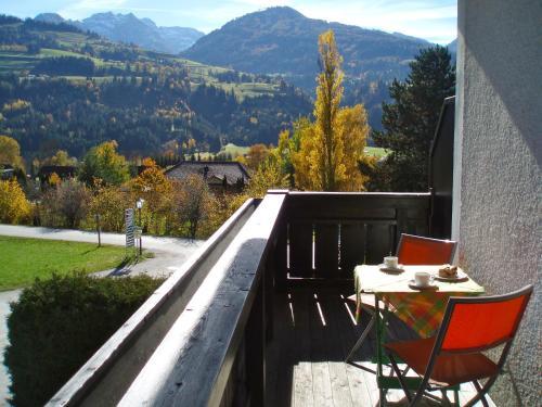 Ferienappartement Aich - Studio mit Balkon
