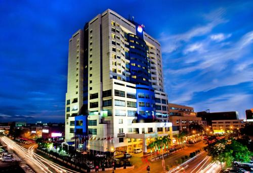 Mega Hotel front view