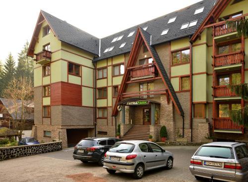 Отель Fatrapark - Rodinný Apartmán
