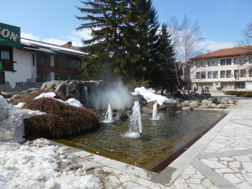 Wood Apartment in Mountain View Complex, Bansko