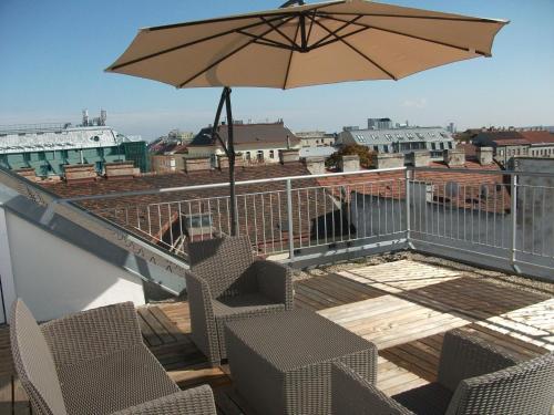 CH - Penthouse Terrassenapartment - Apartment mit 1 Schlafzimmer und Terrasse