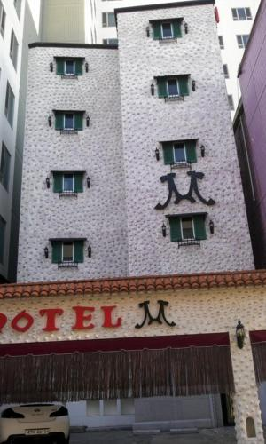 M Hotel, Suwon Station front view