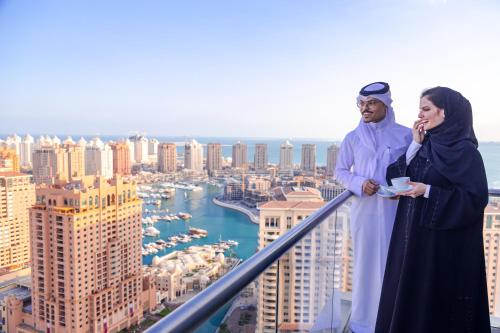 Stay at Hilton Doha The Pearl Hotel & Residences
