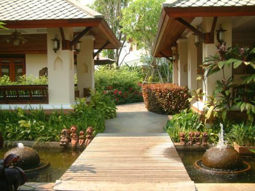 Map Of The Iyarintara Resort Area Chiang Mai Thailand