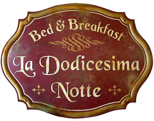 关于Bed & Breakfast La dodicesima Notte