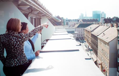 Sky Apartments Vienna - Superior Apartment mit Doppelzimmer