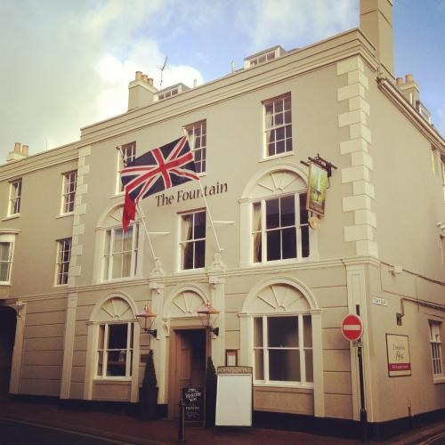 The Fountain hotel in Cowes, Isle of Wight