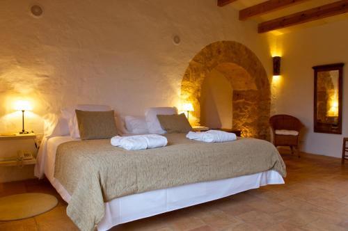 Suite Junior con terraza Alcaufar Vell Hotel Rural & Restaurant 2
