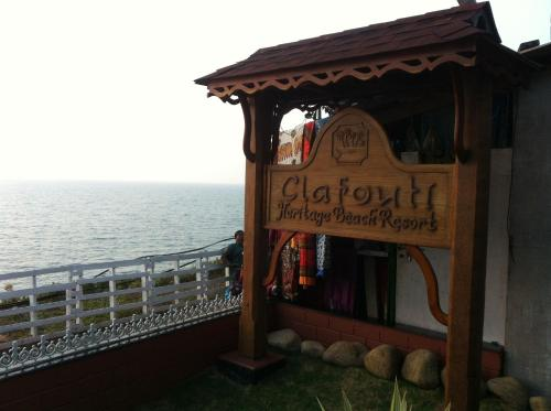Отель Clafouti Beach Resort 2 звезды Индия