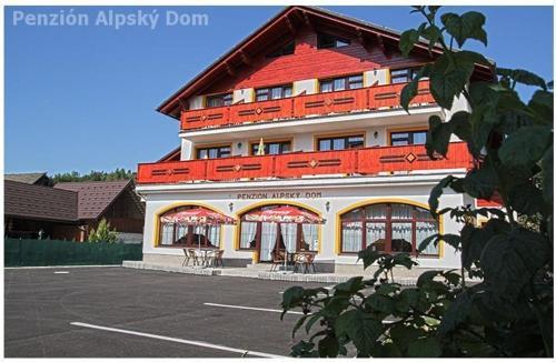 Alpský dom Vitanová, Vitanová