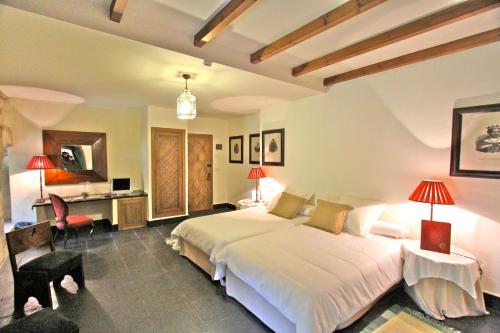 Habitación Doble Estándar - 1 o 2 camas - Uso individual Posada Real Castillo del Buen Amor 4