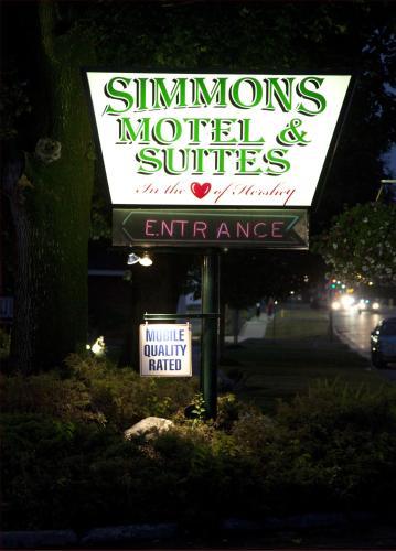 Simmons Motel Hershey Pa