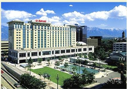 Photo of Marriott Salt Lake City Center Hotel Bed and Breakfast Accommodation in Salt Lake City Utah
