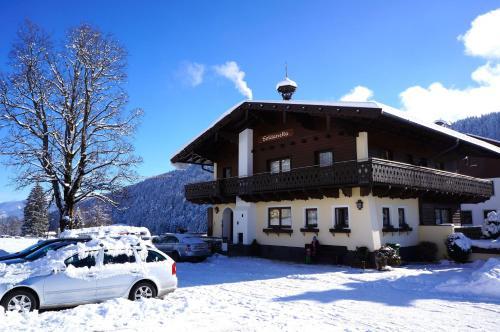 Gästehaus Soldanella - Apartment mit 2 Schlafzimmern und Veranda