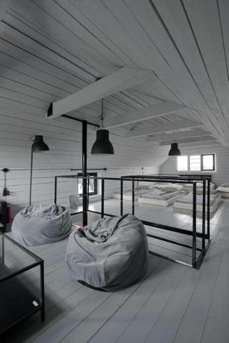 Bed in 12-Bed Dormitory Room - Attic
