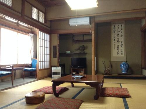 Japanese-Style Twin Room with Shared Bathroom and Private Toilette