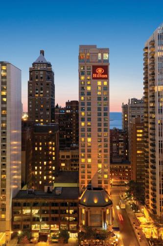 Hilton Suites Chicago/Magnificent Mile staycation