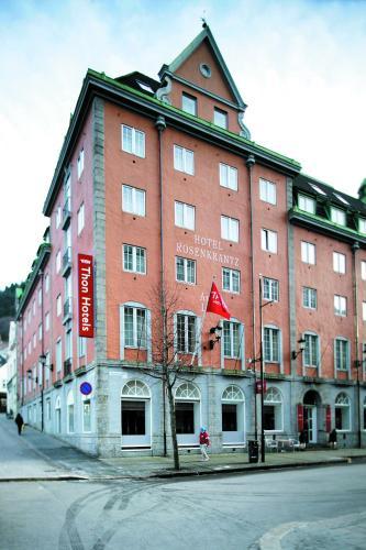 Отель Thon Hotel Rosenkrantz Bergen 4 звезды Норвегия