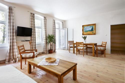 Townhouse Apartments Wien - Kleines Apartment mit 1 Schlafzimmer