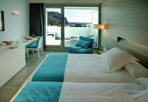Double or Twin Room with Terrace Hotel Spa Calagrande Cabo de Gata 3