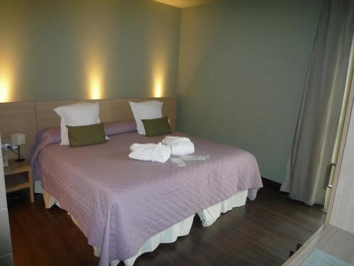 Double or Twin Room with Spa Access Hotel Spa Vilamont 10