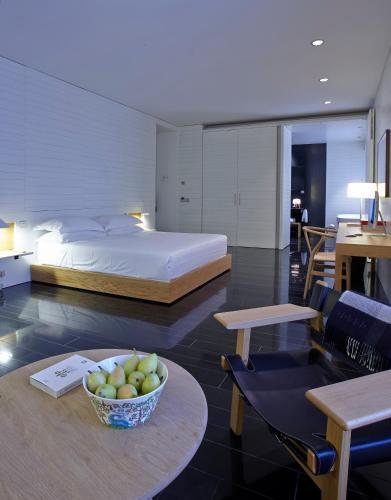 Deluxe Junior Suite Atrio Restaurante Hotel 1