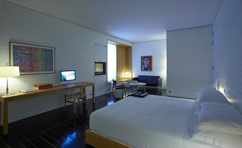 Deluxe Junior Suite Atrio Restaurante Hotel 2