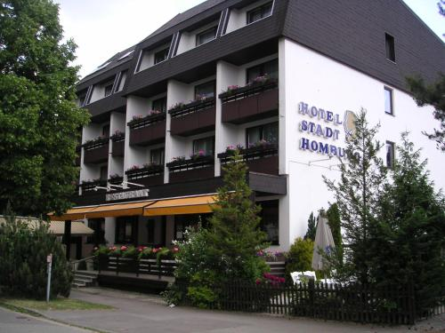Отель Hotel Stadt Homburg 3 звезды Германия